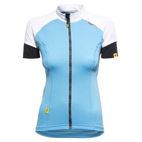Mavic Athena Kortærmet cykeltrøje Damer blå